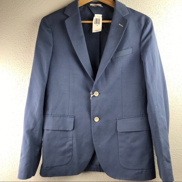 008bc8c84 Gant Rugger Mens Canvas Blazer NWT